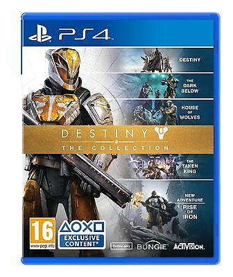 Destiny: The Collection (PS4) Brand New & Sealed Quick Dispatch Free UK Shipping