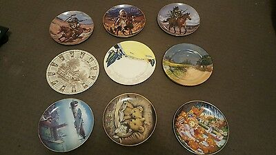 plate collection FRANKLIN MINT WESTERN HERITAGE ROYAL DOILTON