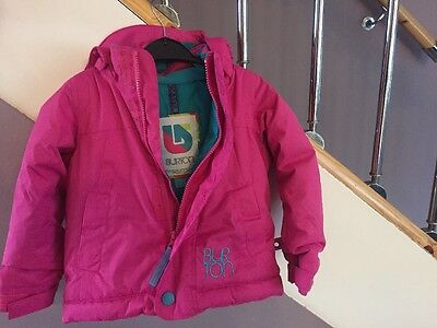 Girls Pink Winter Coat Age 2