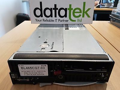 HP BL465C G7 2 x EIGHT CORE AMD 6128, 8GB, P410I/1GB FBWC, 2 x SFF BLADE SERVER
