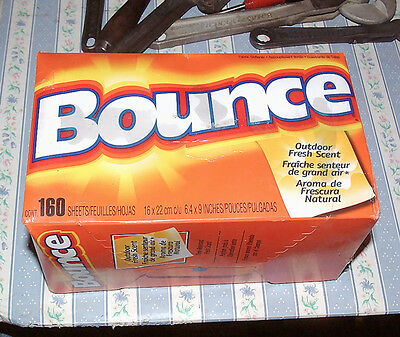 8 Packs BOUNCE Total 840 sheets House Laundry Clothes Dryer
