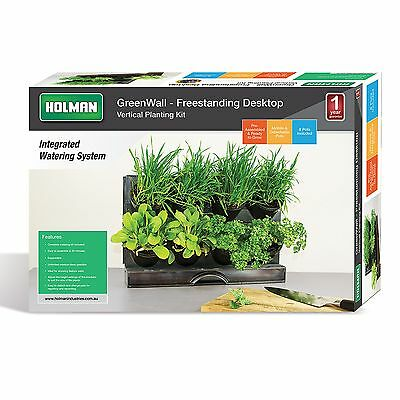 HOLMAN VERTICAL GREENWALL Garden Kit Planter hanging
