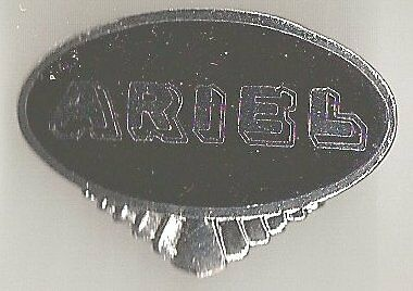 ARIEL Badge épingle  30mm x 22mm
