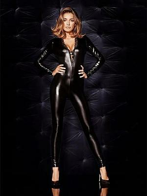 Mistress Dominatrix Wet Look Jumpsuit