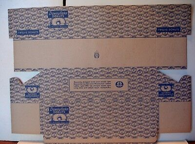 5  Downyflake Donuts Boxes - Unused