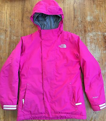 girls north face jacket Age 10-12
