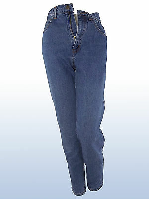 Jeans Donna Vintage Anni 80 Moschino Made Italy Tg Ita 41 Uk 9 W 27