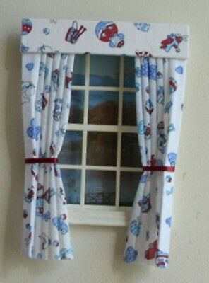 Dolls House Curtains Nursery Toys
