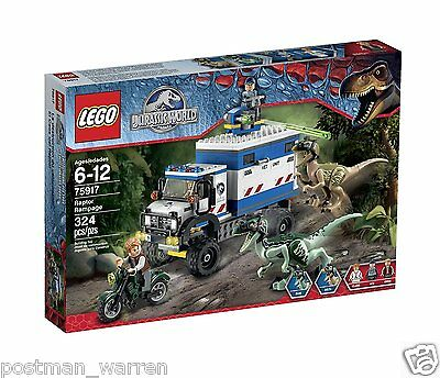 LEGO Jurassic World - Raptor Rampage 75917 - Brand New - In-Stock Ready to Ship