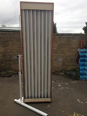 8t pine canopy sunbed 100watt tel 01740655557 for del £ most uk 10289