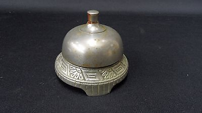 Fancy Victorian Mechanical Wind-up Spring Top dinner Bell  Ca. 1860's Works