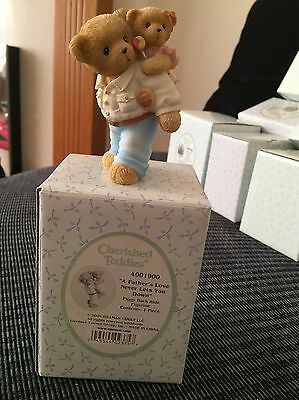 Cherished Teddies. A Fathers Love Never Lets You Down