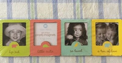 Two's Set Of Four Photo Magnets