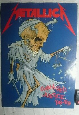 Metallica  Poster Giant Master Of Puppets Magazine Very Rare Thrash