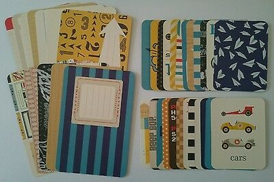 *Rare* Project Life Cards Boys Rule Edition PARTIAL Kit Becky Higgins