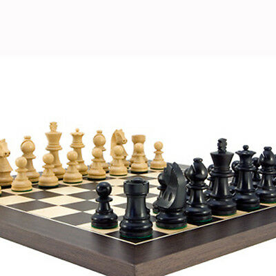 The Downhead Classic 14 inch Wenge Deluxe Chess Set with 2.5 inch king