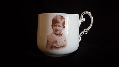 Paragon Souvenir Cup of Prince Charles as a Boy, portrait by Marcus Adams