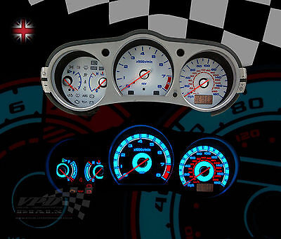 Fits: Nissan 350z 3.5 v6 GT speedo dash interior custom bulb lighting kit