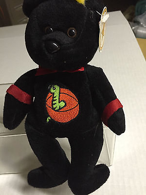 Celebrity Bear #15 depicting Dennis Rodman, retired '99, only 17k made (old tag)