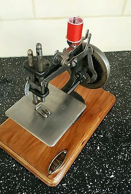 Very rare 1947/8 Mark 1 Grain sewing machine in the original crinkle black paint