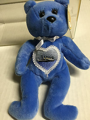 Celebrity Bear #18 depicting singer Celine Dion ret'd '00, only16k made(old tag)