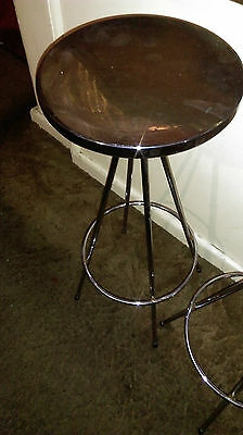 Stainless Steel Stool - Comes As One Piece No Assembly