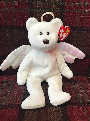 Halo TY Beanie Baby Rare With Tags
