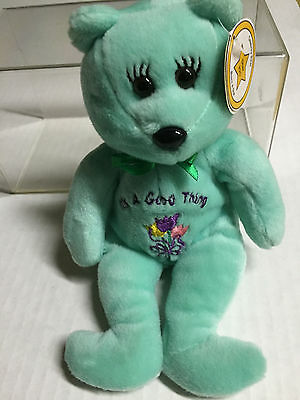 Celebrity Bear #20 depicting Martha Stewart, ret'd '99, only13k made! (old tag)