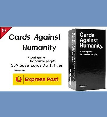 Cards Against Humanity AU 1.7 Version Base Set 550 Cards[Free Express Delivery]