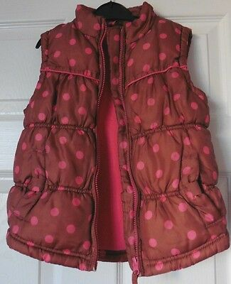 Girls Gilet / Bodywarmer  By Next, Age 5 - 6 Years