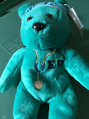 Celebrity Bear #23: George Clooney (ER), ret'd '99, only14k made! (2gen tag)