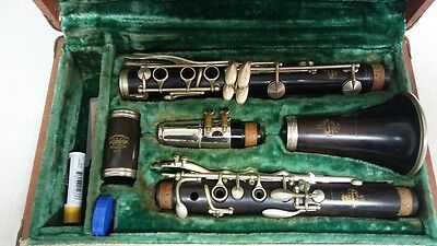 Buffet Clarinet Made In Paris  Wood