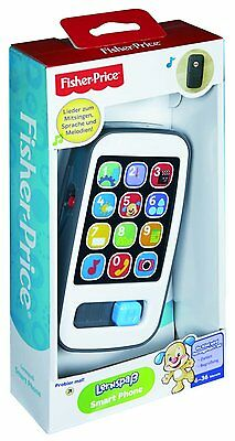 Fisher Price Smart Phone Spielzeug Handy Kinder Smartphone Sound  Lern Spaß