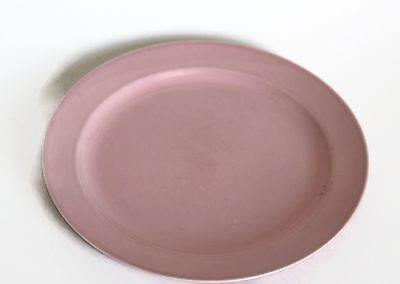 "LU-RAY Vintage 8""  PINK Plate TS&T Taylor Smith & Taylor"