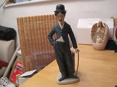 Charlie Chaplin Figure Hand Crafted  By Nadel