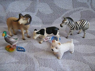 """Collectable"" - BULLYLAND - selection of Animals etc (Brand New) - 2000s"