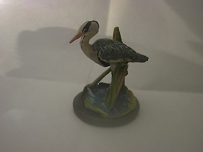 Country Birds Collection,the Grey Heron,sculpted By Andy Pearce.