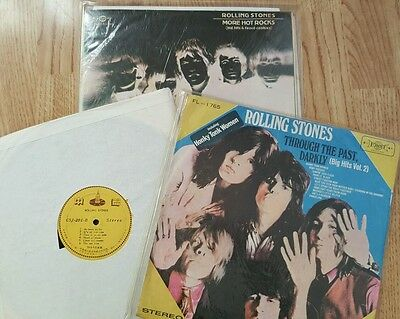 The Rolling Stones Taiwanese Press vinyl LP's x3 see full description
