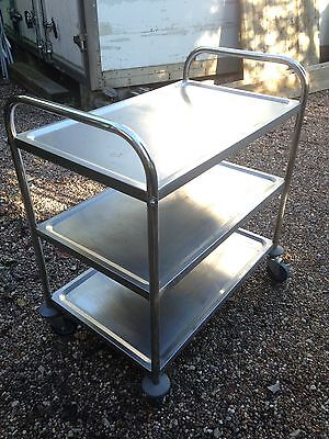 Sunnex Catering 3 Tier Trolley