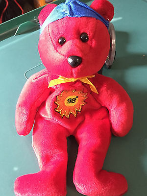 "Celebrity Bear #49:depicting ""98 Degrees"" band"