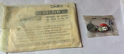 2 Vintage Packeted Subbuteo Table Soccer Accessories