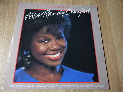 Miss Randy Crawford - The Greatest Hits (Vinyl Album played once)