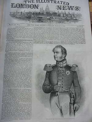 LN-1844-His Majesty The King of Prussia Frederic William IV-Holzstich