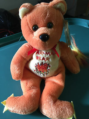 "Celebrity Bear #62 depicting Charmander from Pokemon, ""Catch Them All"""