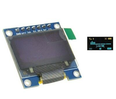 """3-5V 0.96"""" SPI Serial 128X64 OLED LED LCD Display Module blue yellow for Arduino"""
