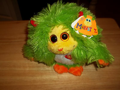 Ty Monstaz Collection - Talking Maxine Plush Ball- NWT--  SHIPS FREE!
