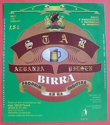 Albania.One Albania vintage beer labels in excellent unused conditions.