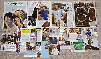 Jeff Probst of Survivor Magazine Clippings