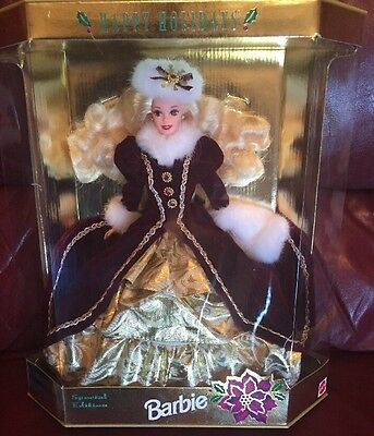 Barbie 1996 Happy Holiday Doll Special Edition Nrfb