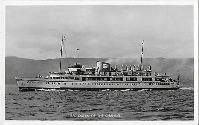 RP Card M.V. QUEEN OF THE CHANNEL (later OIA) - Unposted